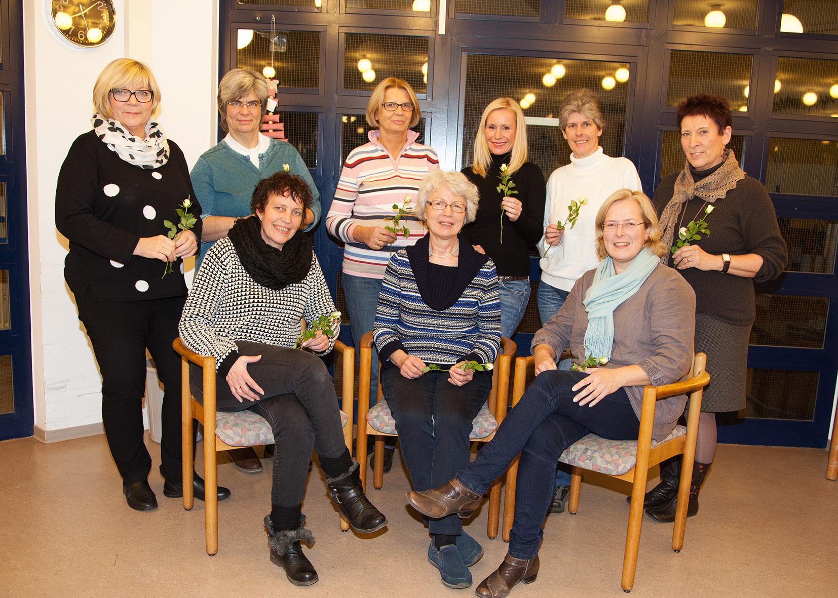 Teilnehmerinnen des Aufbauseminars 2015